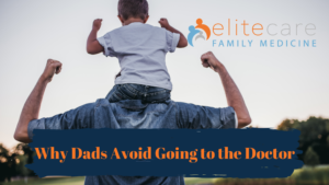 why dads avoid going to the doctor